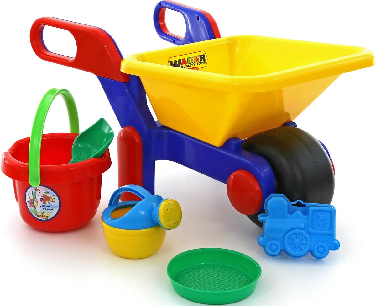 Полесье Набор игрушек для песочницы №455, цвет в ассортименте