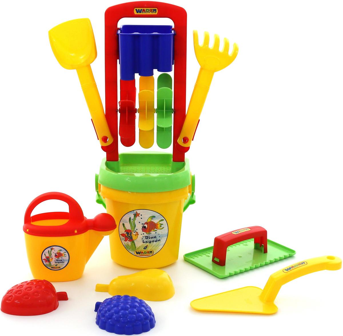 Полесье Набор игрушек для песочницы №457, цвет в ассортименте