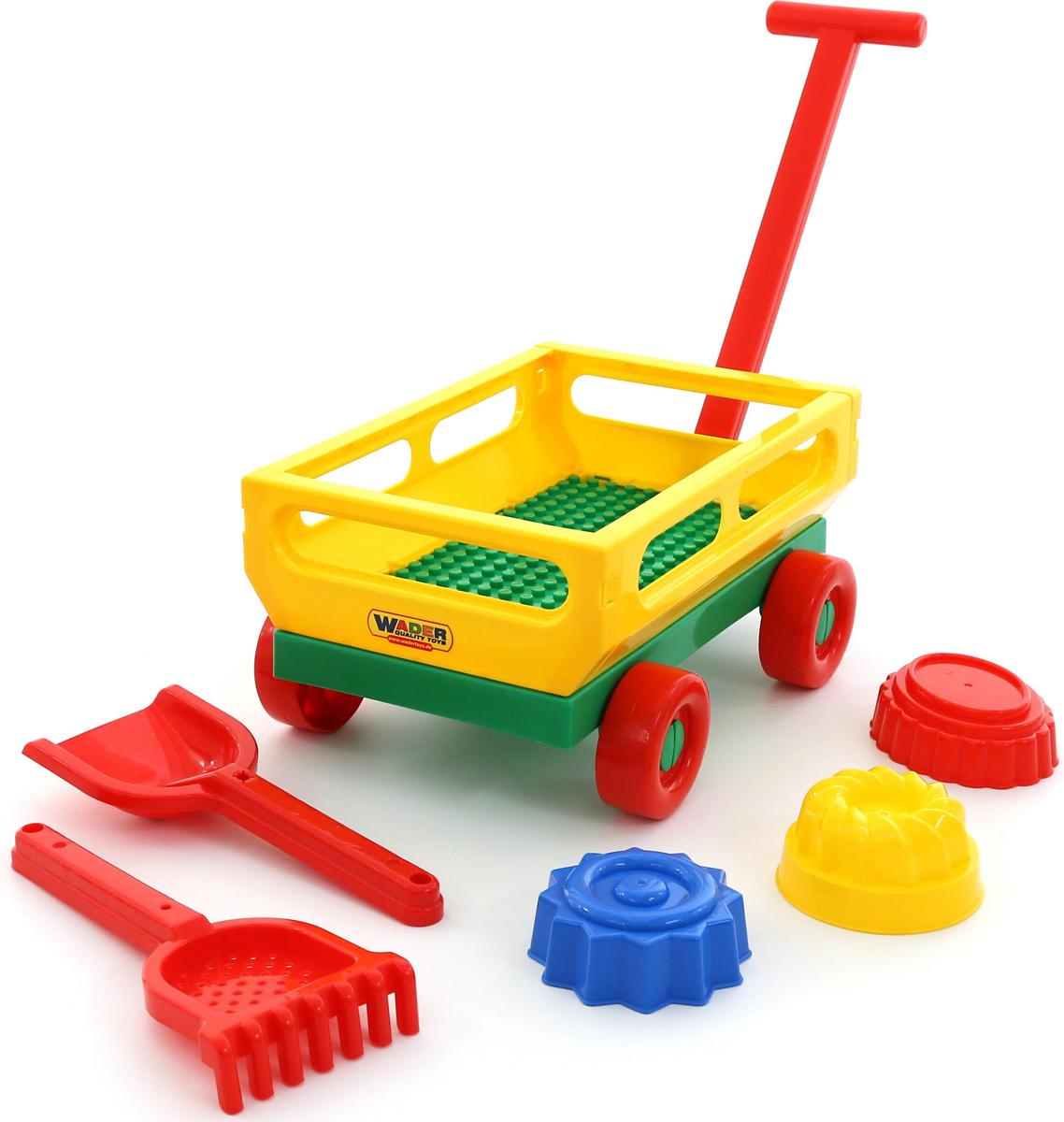 Полесье Набор игрушек для песочницы №481, цвет в ассортименте