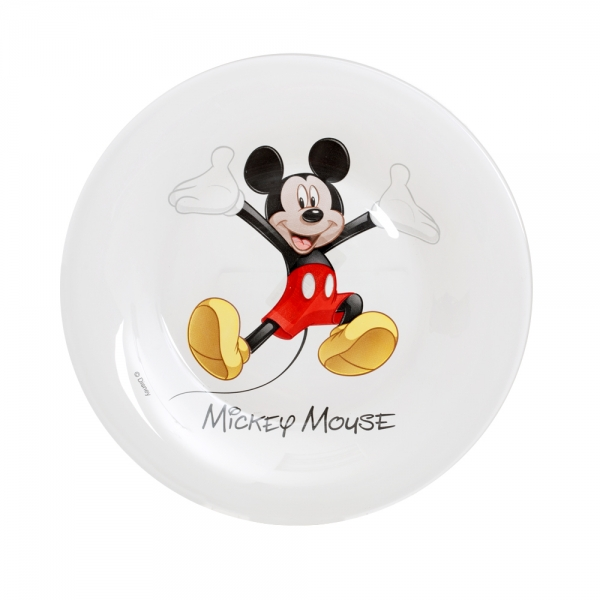 "Тарелка десертная Luminarc ""Disney. Mickey Colors"", диаметр 19 см"