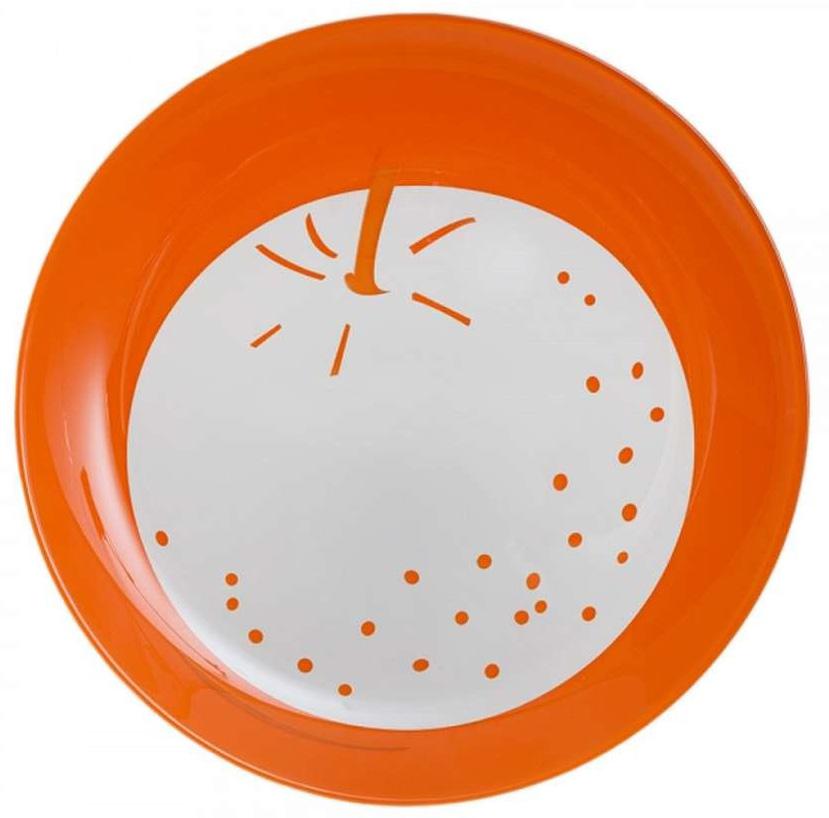 "Тарелка десертная Luminarc ""Fruity Energy. Апельсин"", диаметр 21 см"