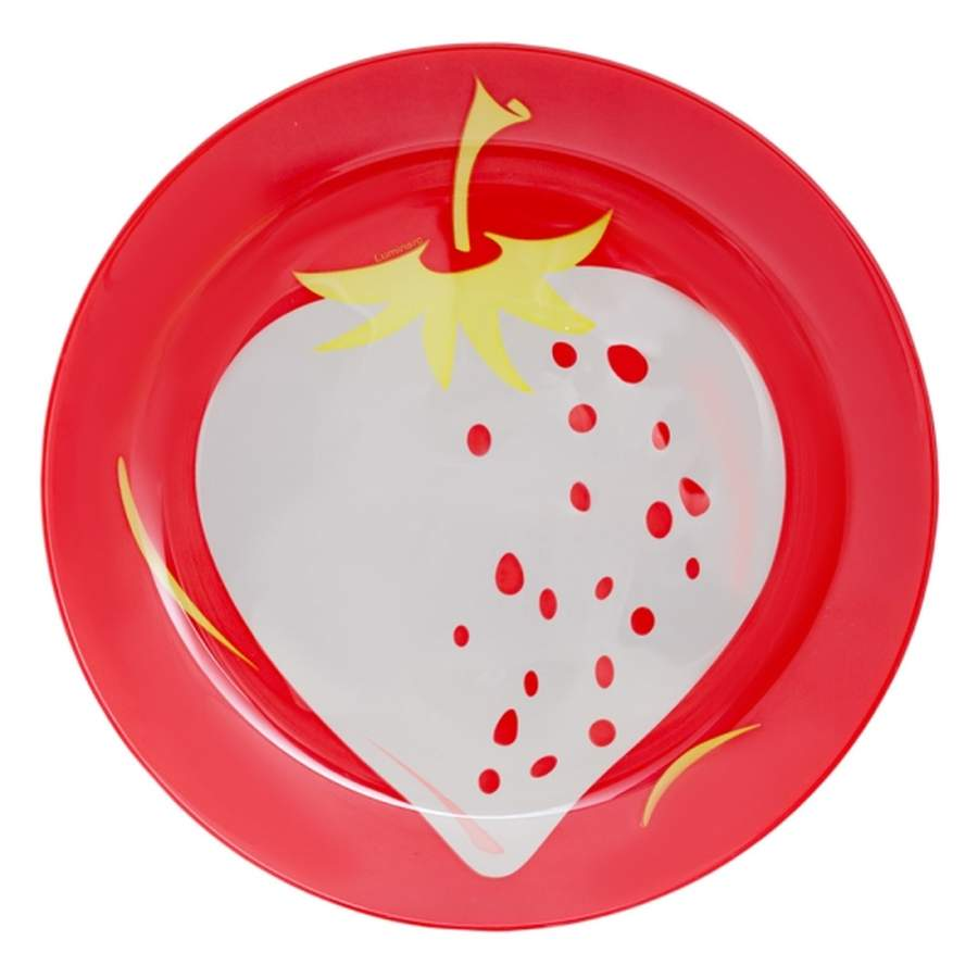 "Тарелка десертная Luminarc ""Fruity Energy. Клубника"", диаметр 21 см"