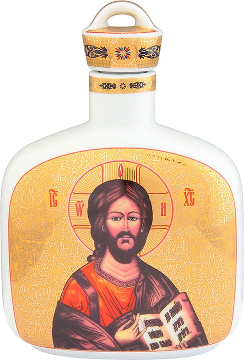 Графин для святой воды Elan Gallery Иисус Христос, с молитвой На принятие просфоры и святой воды, 250 мл. 504060 сосуд для святой воды lefard лики 86 2040