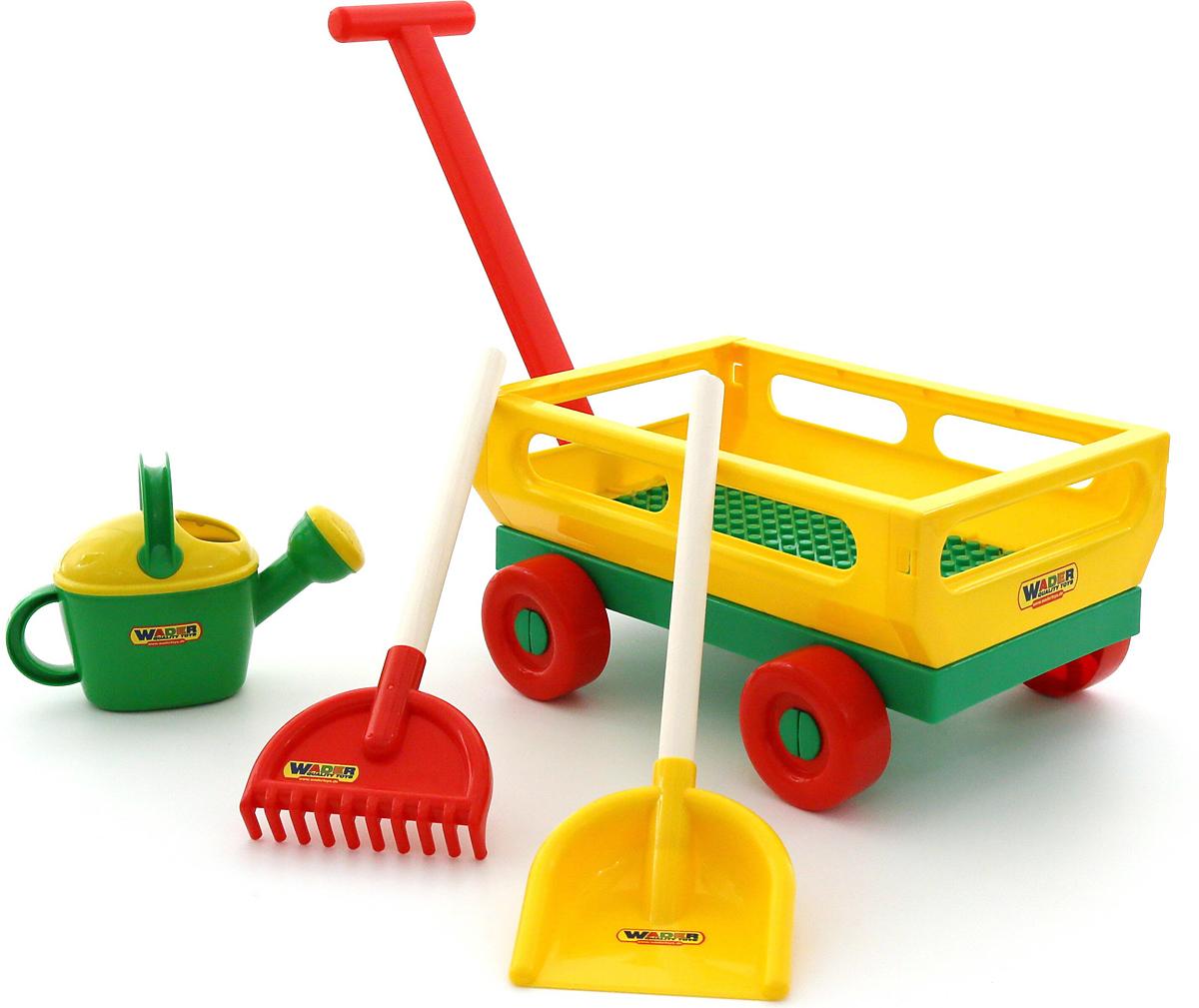 Полесье Набор игрушек для песочницы №482, цвет в ассортименте