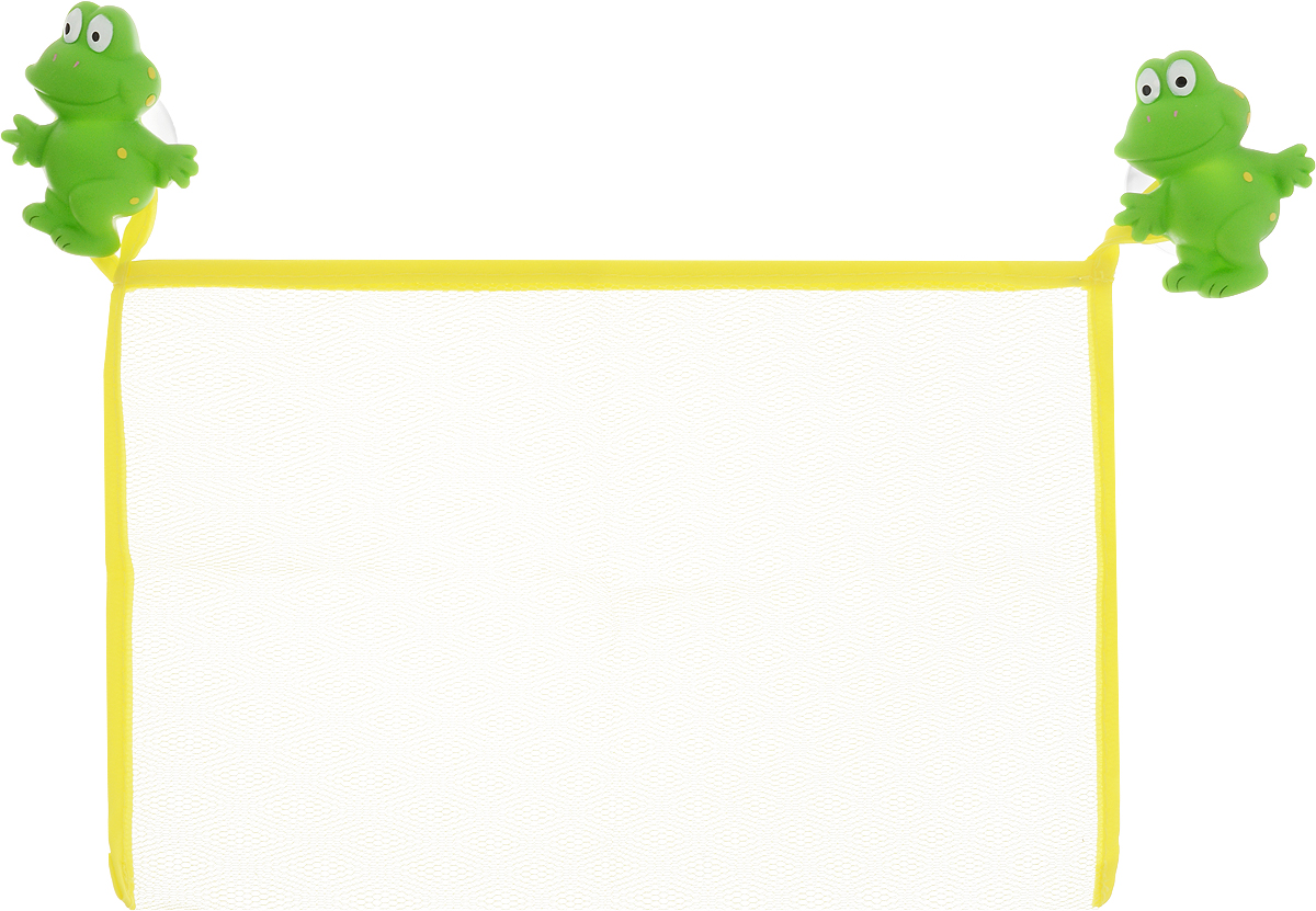 Valiant Сетка настенная на присосках для аксессуаров Лягушата valiant подставка со стаканом лягушата