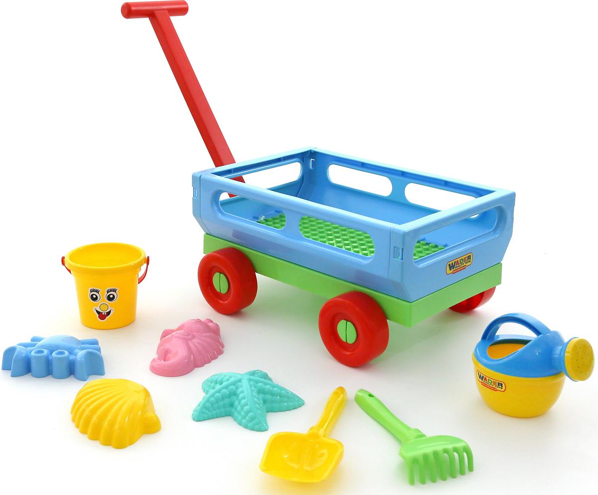Фото - Полесье Набор игрушек для песочницы №487, цвет в ассортименте полесье набор игрушек для песочницы 468 цвет в ассортименте
