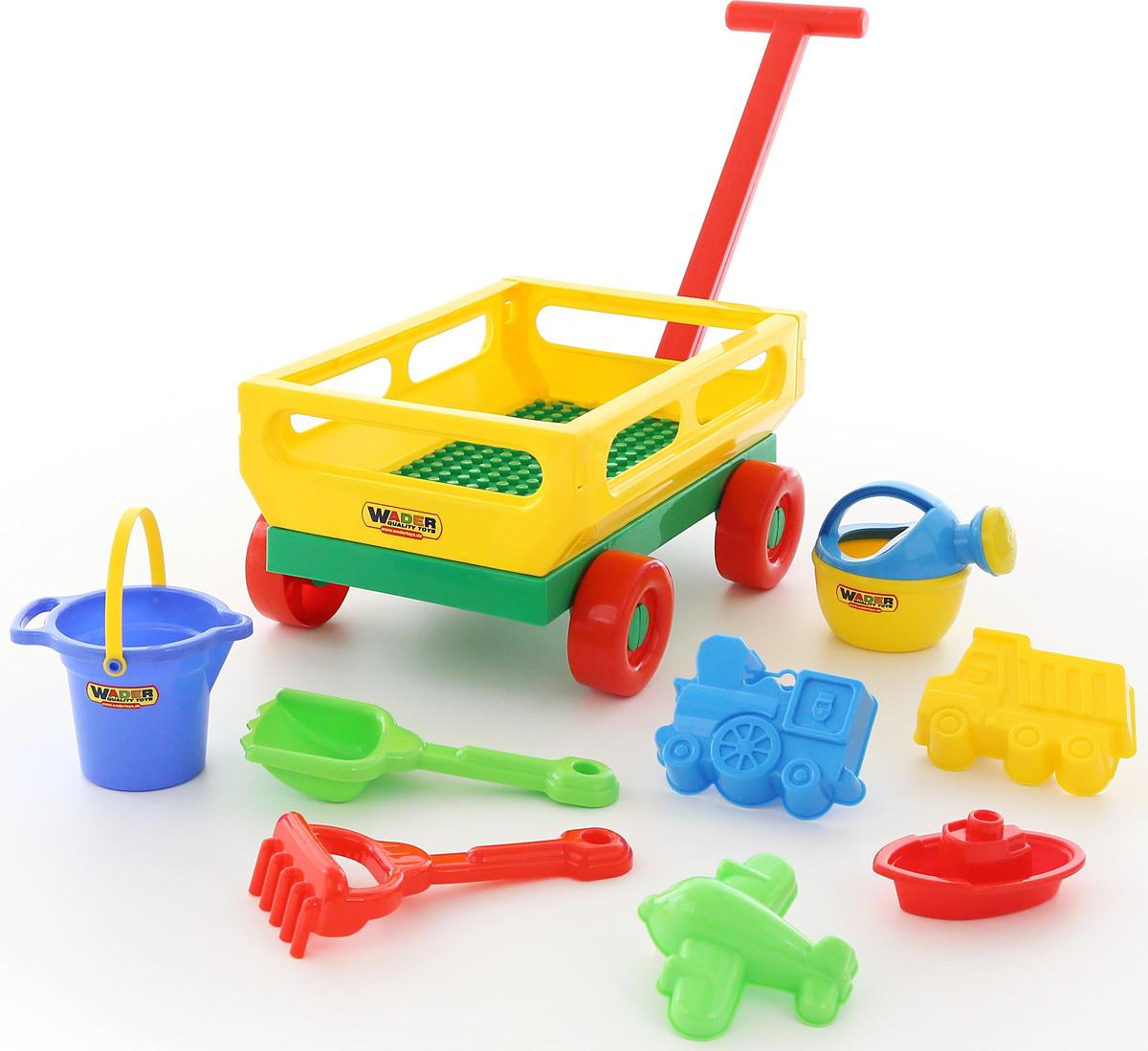 Полесье Набор игрушек для песочницы №488, цвет в ассортименте