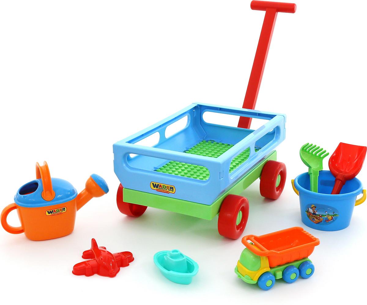 Полесье Набор игрушек для песочницы №489, цвет в ассортименте