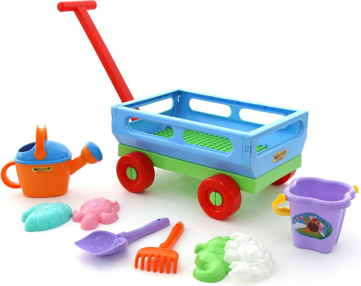 Полесье Набор игрушек для песочницы №490, цвет в ассортименте