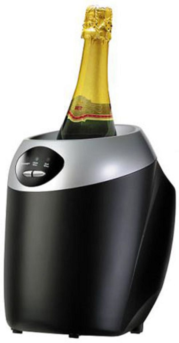 Охладитель бутылок GASTRORAG JC8611, Black кремер gastrorag liss 2310 баллончики для кремера 10шт