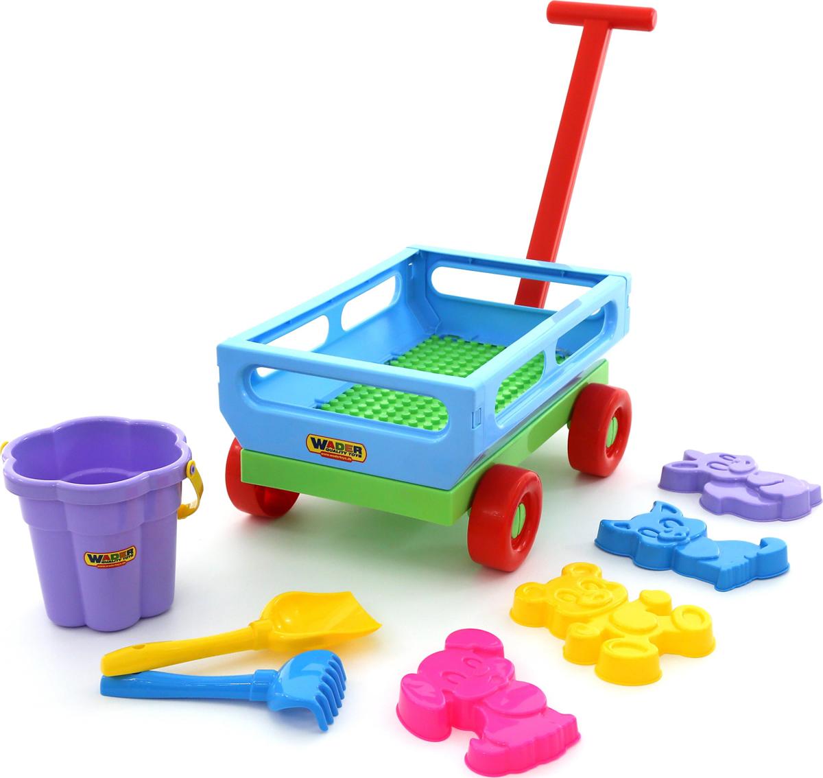Полесье Набор игрушек для песочницы №491, цвет в ассортименте