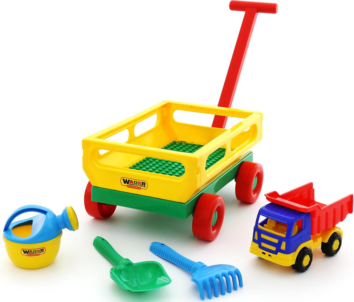 Полесье Набор игрушек для песочницы №494, цвет в ассортименте