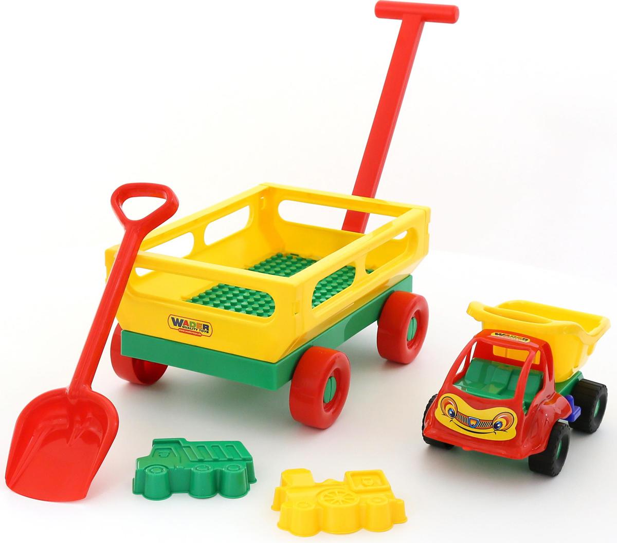 Фото - Полесье Набор игрушек для песочницы №495, цвет в ассортименте полесье набор игрушек для песочницы 468 цвет в ассортименте