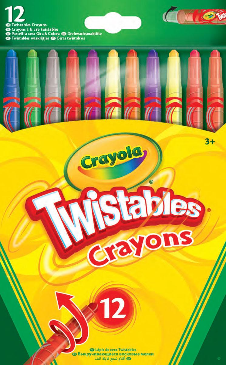 цена на Crayola Набор восковых мелков 12 шт