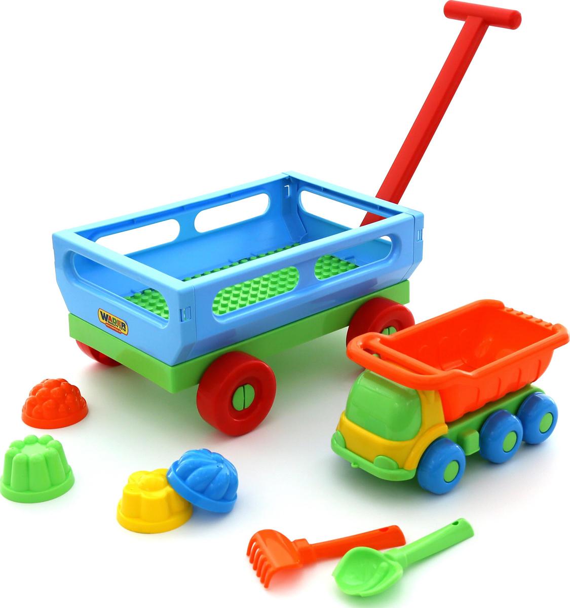 Полесье Набор игрушек для песочницы №496, цвет в ассортименте