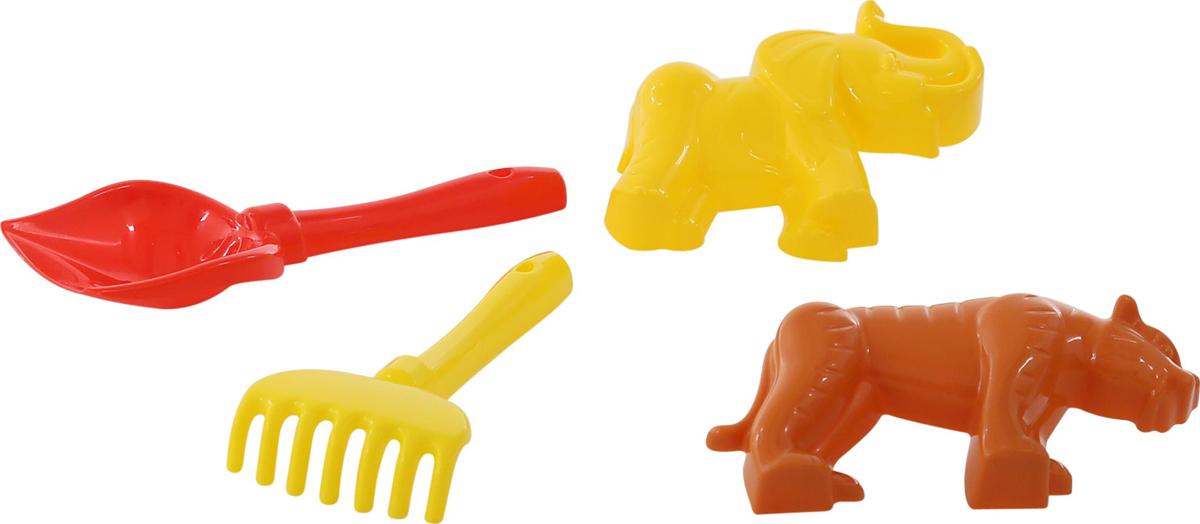 Полесье Набор игрушек для песочницы №563, цвет в ассортименте полесье набор игрушек для песочницы 467 цвет в ассортименте