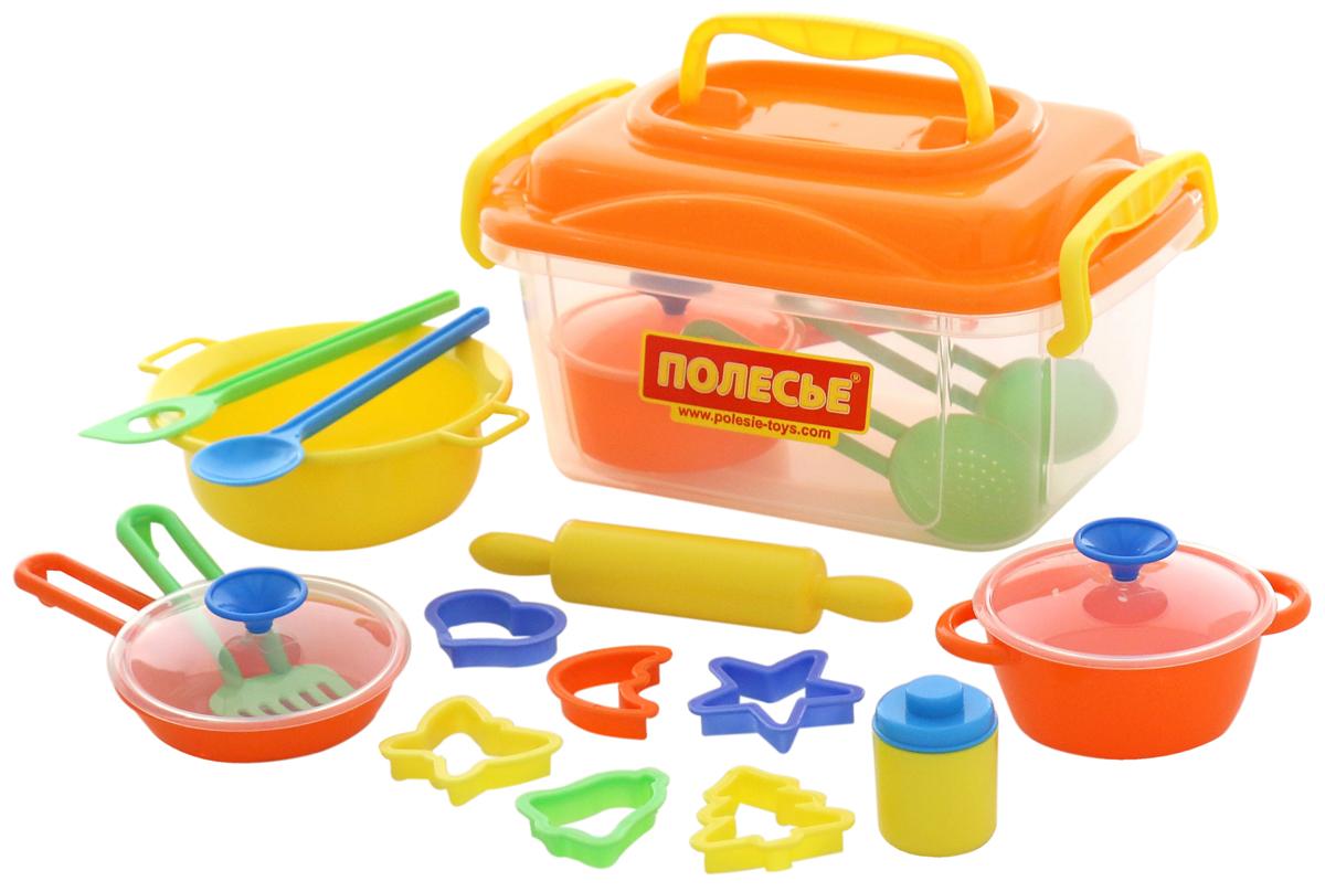 Сюжетно-ролевые игрушки Wader Набор детской посуды