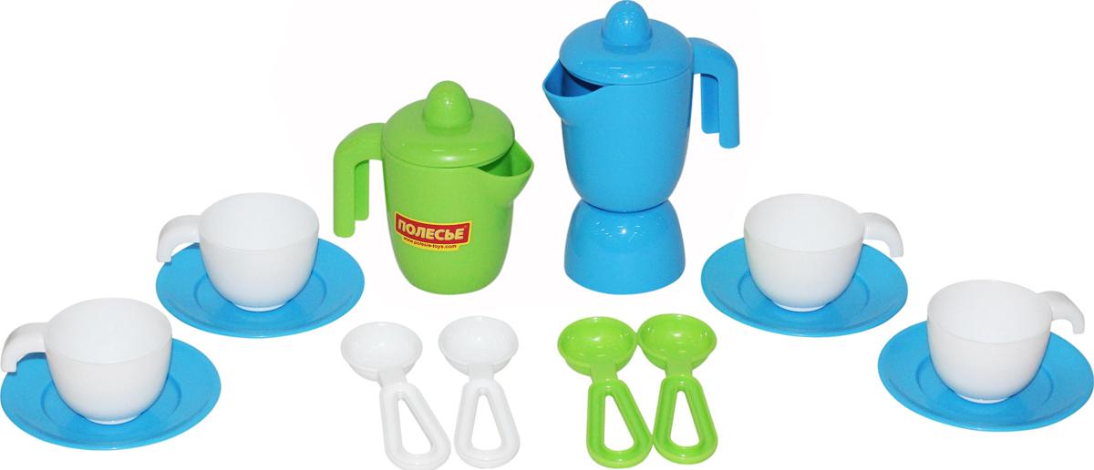 Полесье Набор игрушечной посуды Top Chef 42620, цвет в ассортименте игра полесьенабор детской посуды top chef с корзинкой 42637