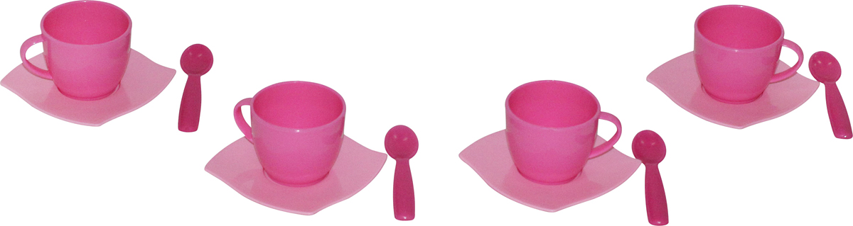 Полесье Набор игрушечной посуды Алиса 56023, цвет в ассортименте цена 2017