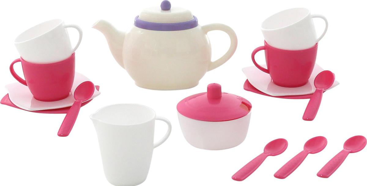 Полесье Набор игрушечной посуды Алиса 58966, цвет в ассортименте полесье столовый набор игрушечной посуды на 4 персоны цвет в ассортименте