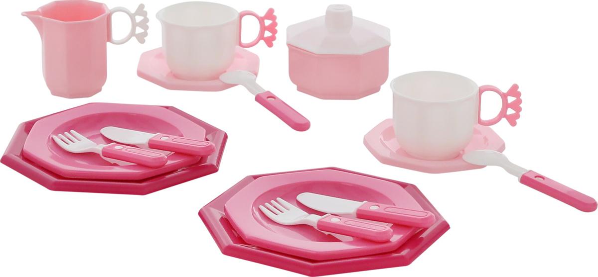 Фото - Полесье Набор игрушечной посуды Ретро 61720, цвет в ассортименте полесье набор игрушек для песочницы 468 цвет в ассортименте