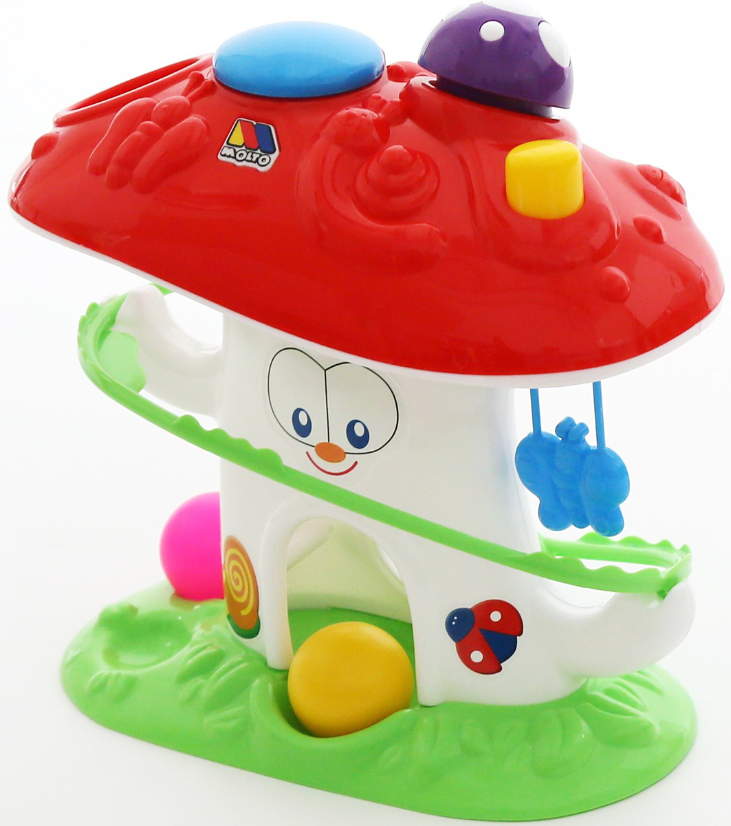 Полесье Развивающая игрушка Забавный гриб, цвет в ассортименте