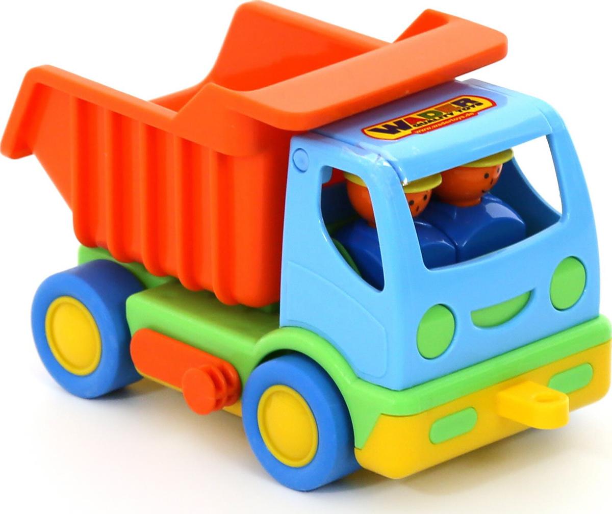 Полесье Самосвал Мой первый грузовик 2441, цвет в ассортименте автомобиль пожарный полесье мой первый грузовик в сеточке 3225