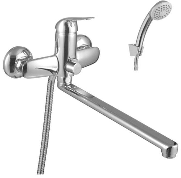 Смеситель Lemark Plus Advance, универсальный смеситель для ванны lemark plus advance lm1202c