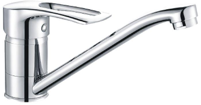 Смеситель для кухни Rossinka Silvermix, с поворотным изливом. T40-21 цена