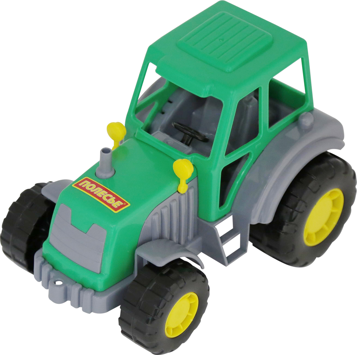 игрушки в песочницу Полесье Трактор Мастер, цвет в ассортименте