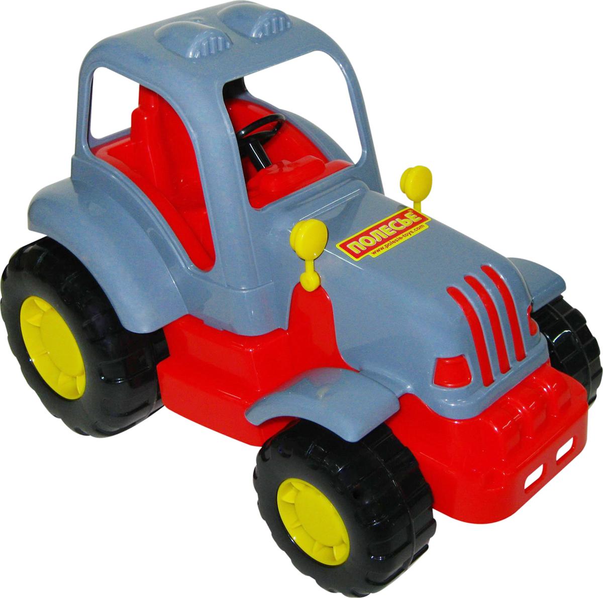 игрушки в песочницу Полесье Трактор Силач, цвет в ассортименте