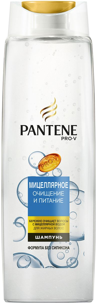 Шампунь Pantene Pro-V Мицеллярное очищение и питание, 400 мл