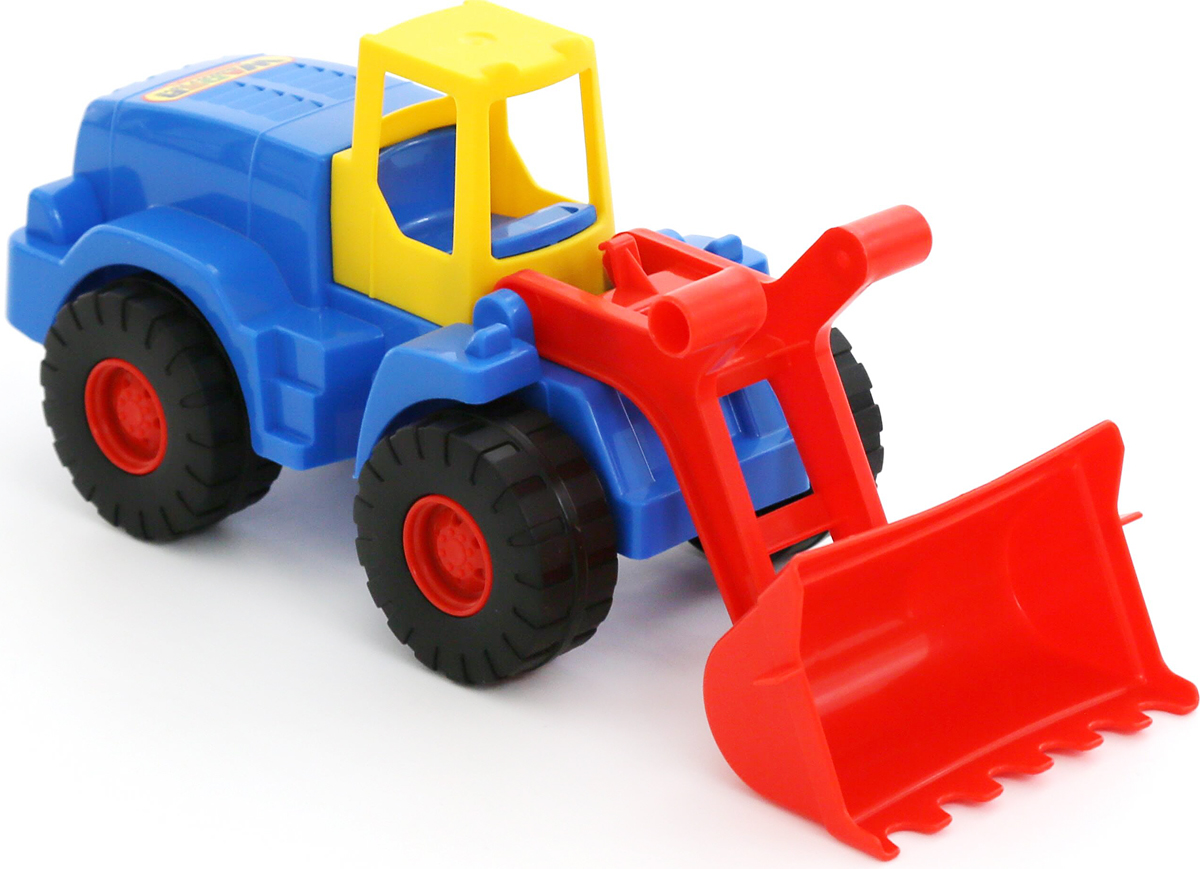 Полесье Трактор-погрузчик Агат, цвет в ассортименте игрушка полесье агат 56429