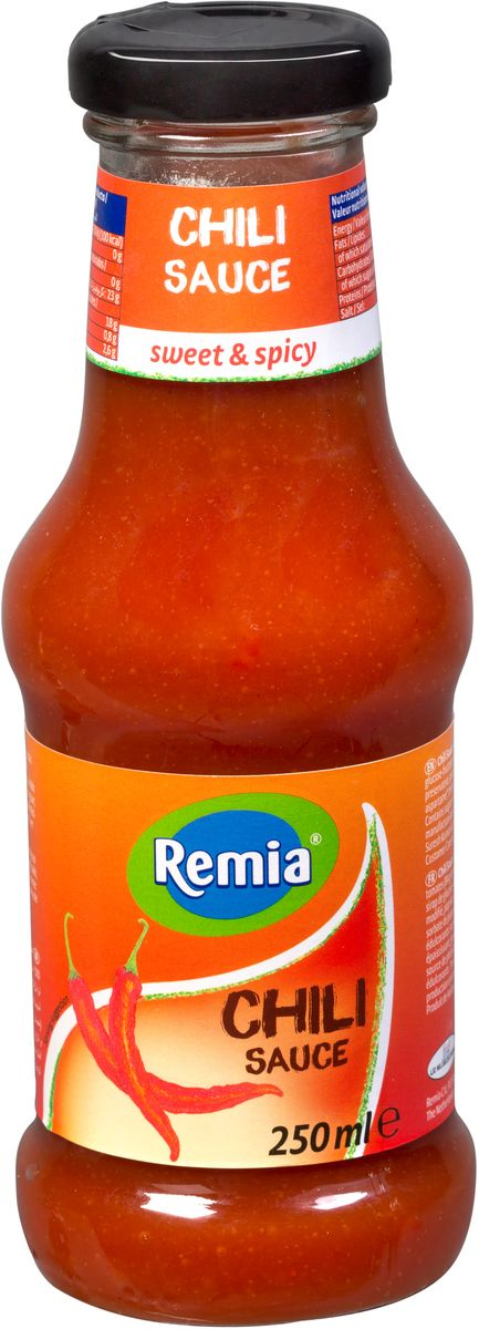 Remia Chili Sauce cоус острый чили, 0,25 л соус чили pearl river bridge yellow lantern chili sauce 240 г
