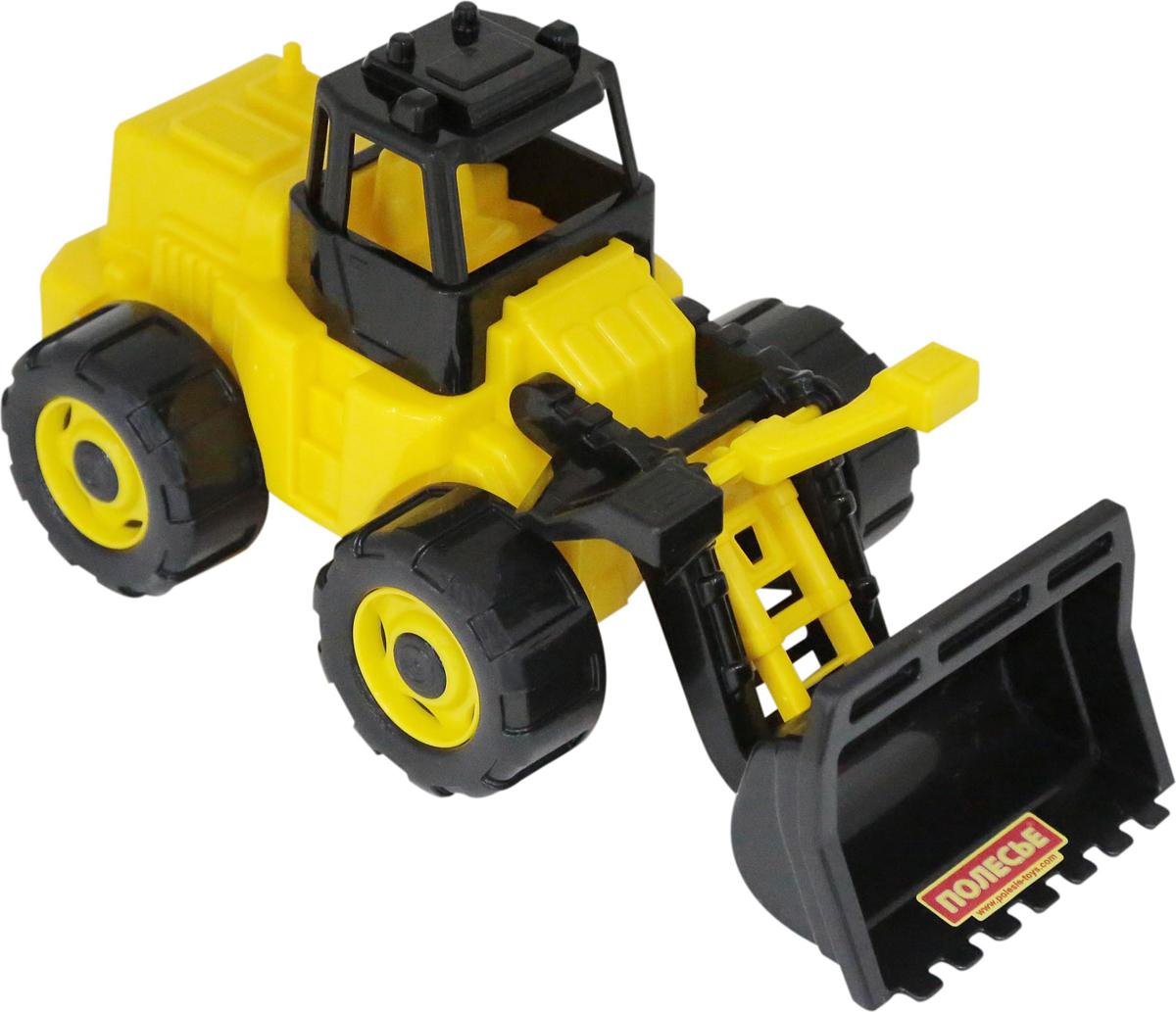 Полесье Трактор-погрузчик Геракл, цвет в ассортименте трактор полесье трактор погрузчик умелец оранжевый 159238