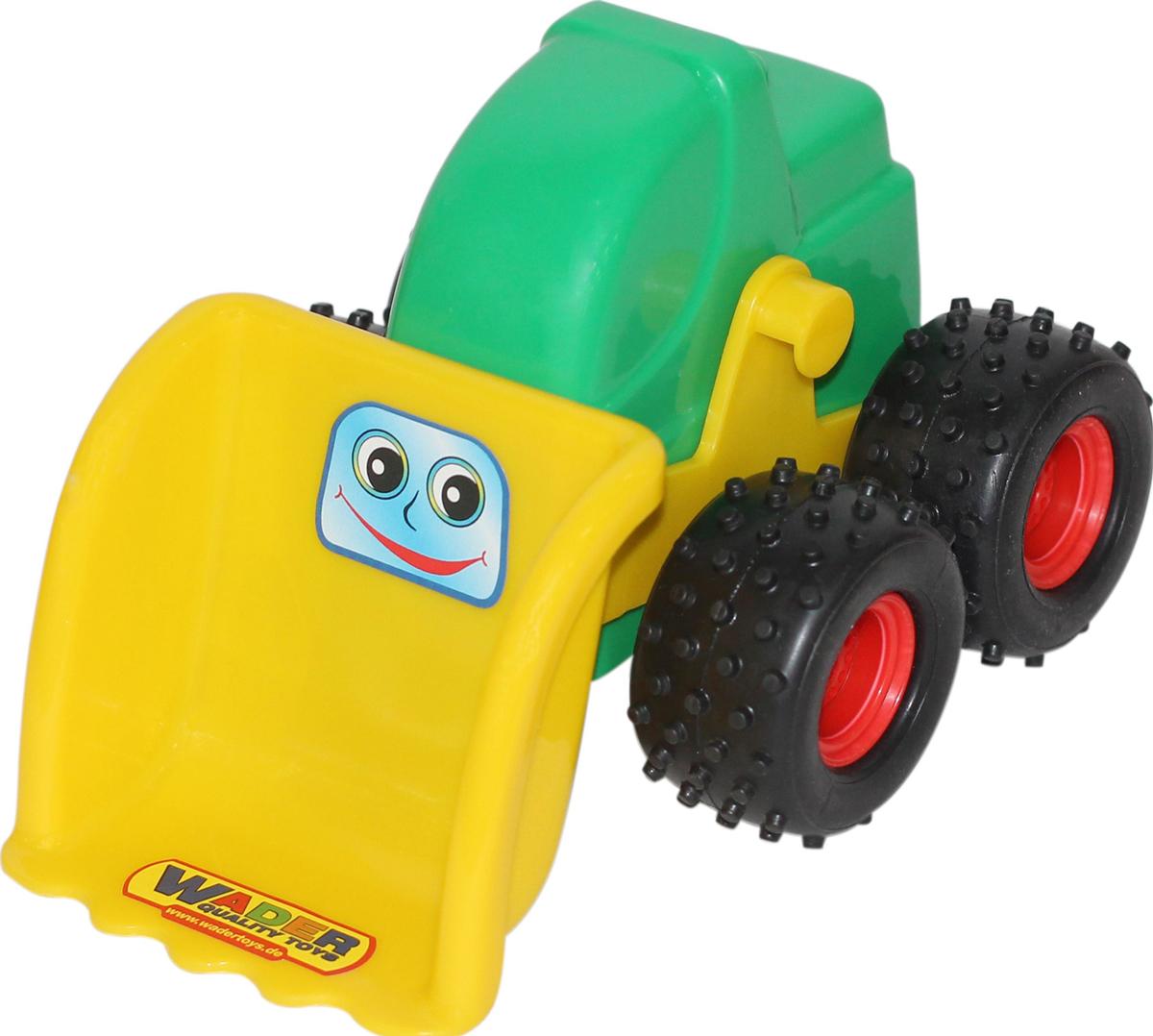 Полесье Трактор-погрузчик Чип, цвет в ассортименте трактор полесье трактор погрузчик умелец оранжевый 159238
