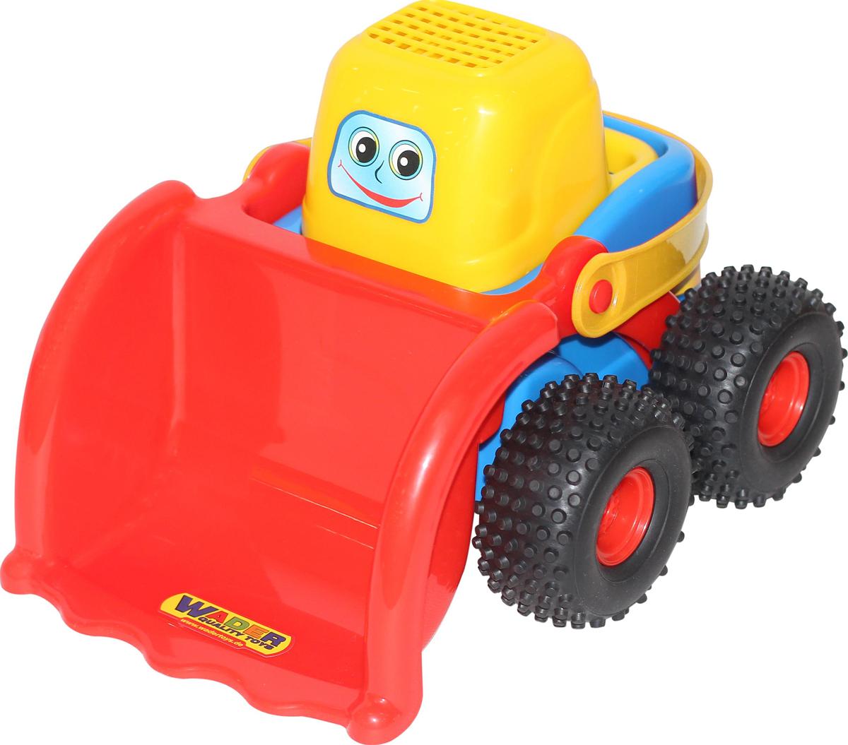Полесье Трактор-погрузчик Чип-макси, цвет в ассортименте трактор полесье трактор погрузчик умелец оранжевый 159238