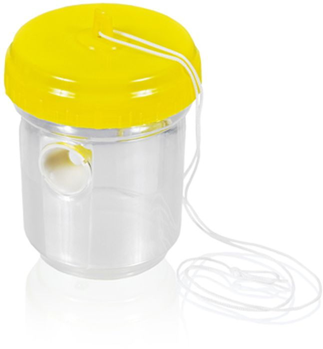 Ловушка подвесная Help, для ос, 9,5 х 13 см80103Подвесная ловушка Help - этопростое и эффективное средство защиты от ос. Необходимо только добавить в бутылку приманку (сок, сироп или мед), которая будет привлекать насекомых внутрь ловушки.