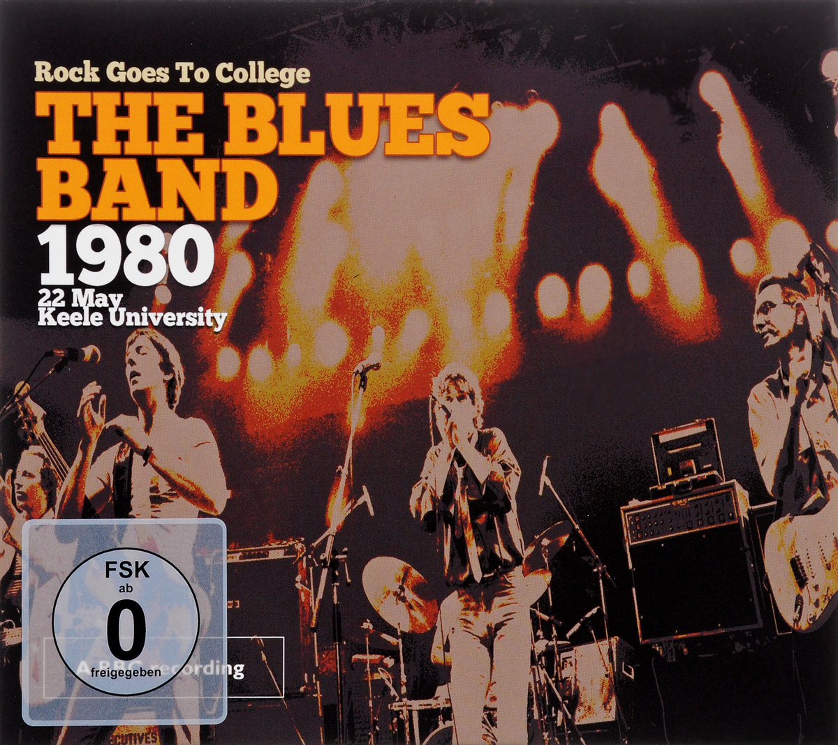 Blues Band The Blues Band. 1980. Rock Goes To College (CD + DVD) xuankun ybr125 jym125 2 jym125 3 rear fork after the rocker boom