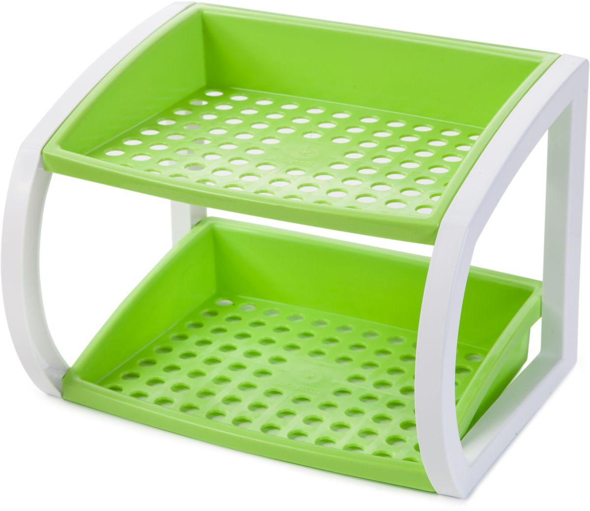 "Подставка кухонная Berossi ""Hokky"", универсальная, цвет: светло-зеленый, 24,7 х 18,3 х 18 см"