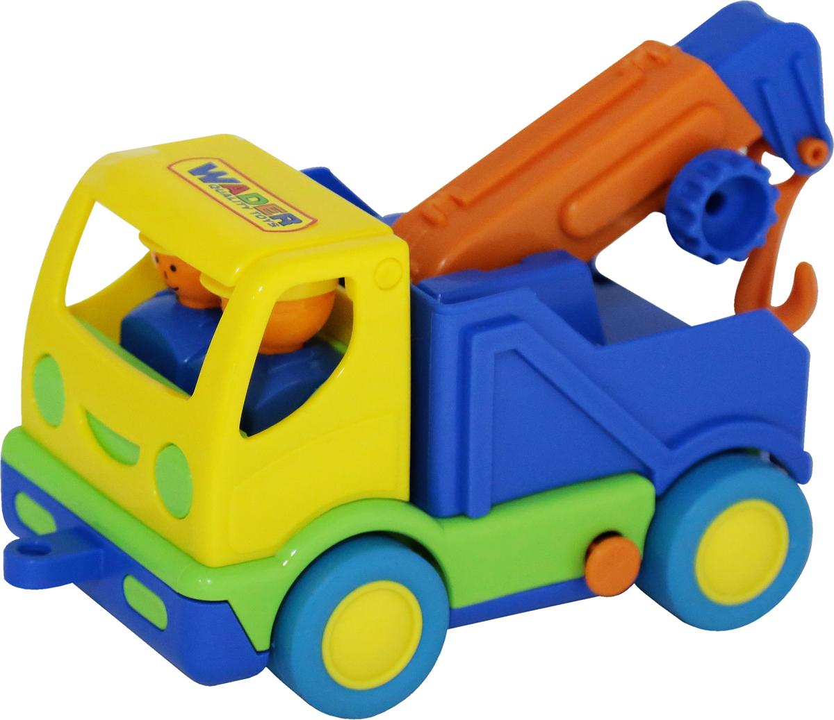 Полесье Эвакуатор Мой первый грузовик, цвет в ассортименте автомобиль пожарный полесье мой первый грузовик в сеточке 3225