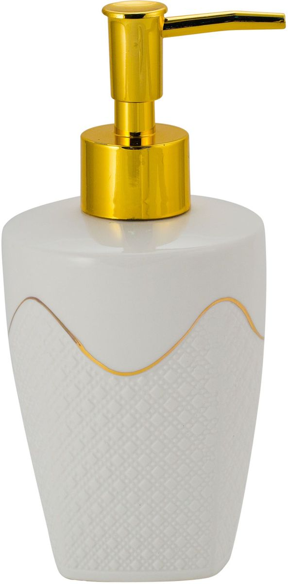 "Диспенсер для мыла Swensa ""Конте"", цвет: белый, 250 мл"