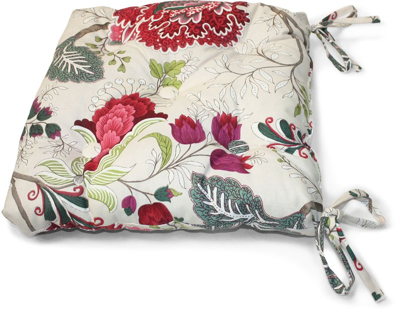 Подушка на стул KauffOrt Кася, 40 х 40 см подушка на стул kauffort лав 40 х 40 см