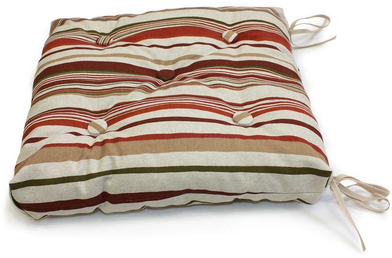 Подушка на стул KauffOrt Керия, 40 х 40 см подушка на стул kauffort таня 40 х 40 см