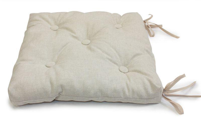 Подушка на стул KauffOrt Лисо, 40 х 40 см подушка на стул kauffort лав 40 х 40 см
