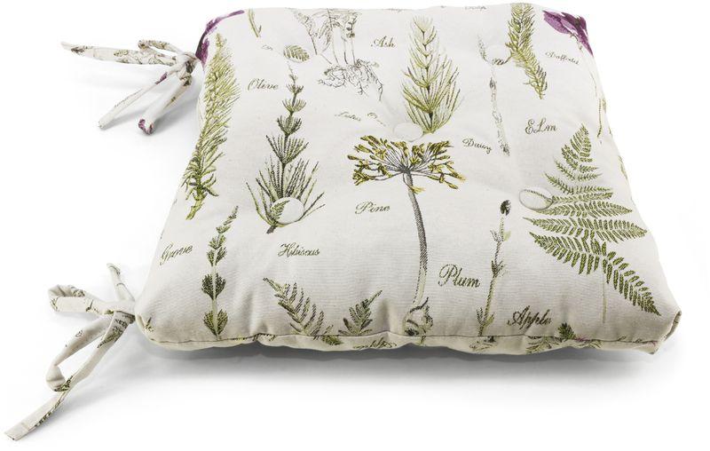 Фото - Подушка на стул KauffOrt Ботаника, 40 х 40 см подушка на стул kauffort lunares