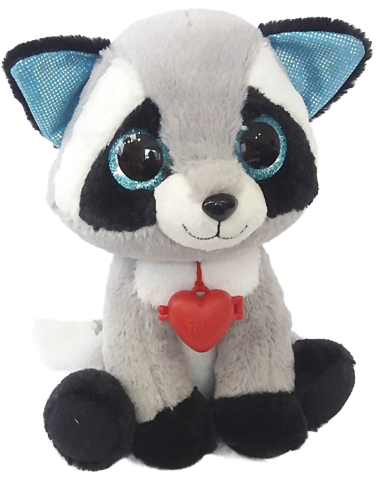 Fancy Мягкая игрушка Енот с кулоном 22 см