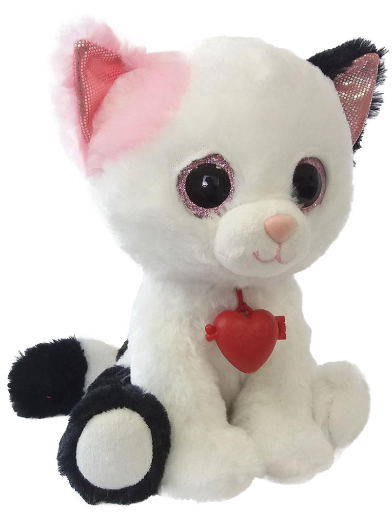 Fancy Мягкая игрушка Кот с кулоном 22 см цены