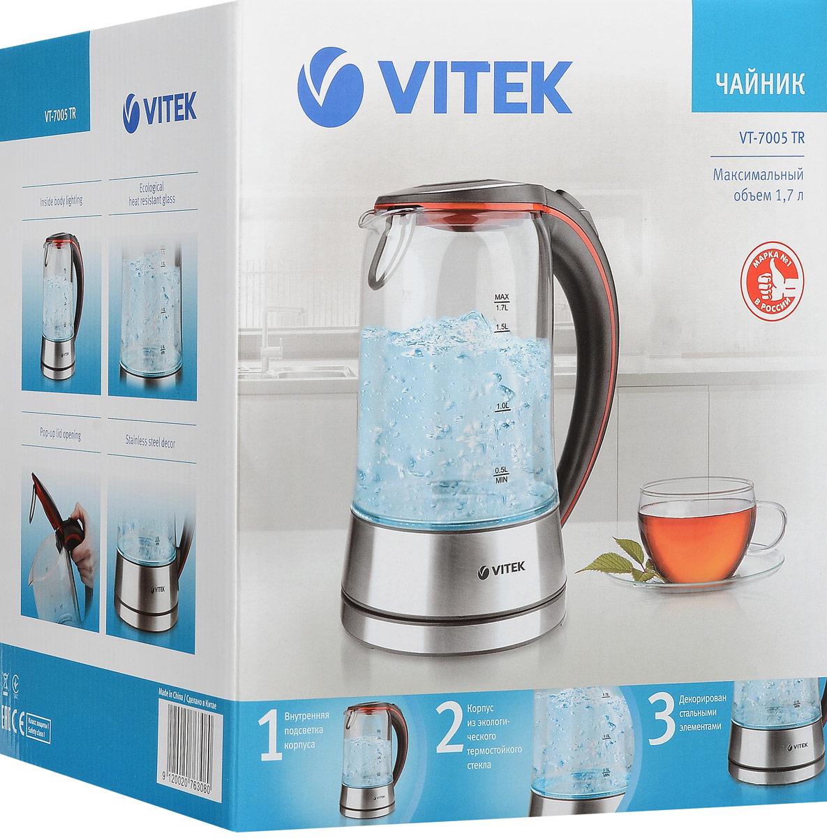 Электрический чайник Vitek VT-7005(TR) Vitek