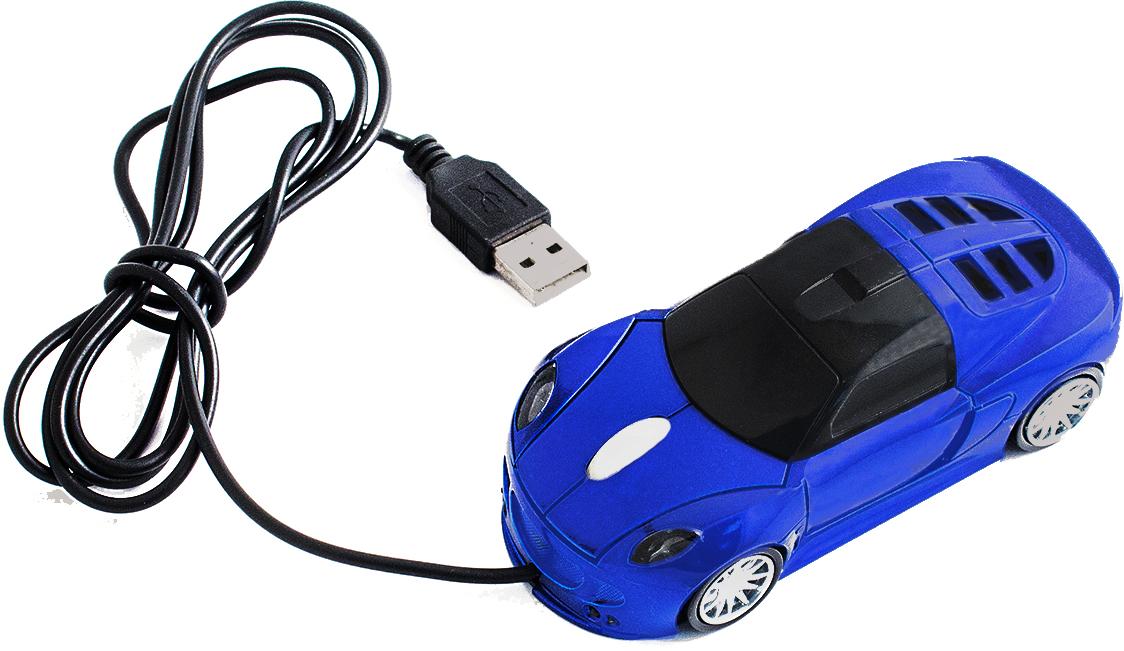 лучшая цена Мышь Эврика А8 Автомобиль, Blue